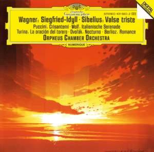 Wagner: Siegfried Idyll, Sibelius: Valse triste & other orchestral works