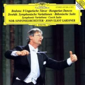 Dvorak: Symphonic Variations & Brahms: Hungarian Dances