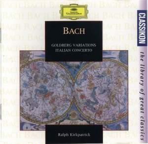 Bach: Goldberg Variations & Italian Concerto
