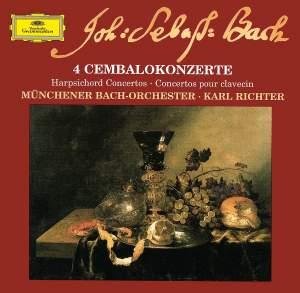 Bach: 4 Harpsichord Concertos