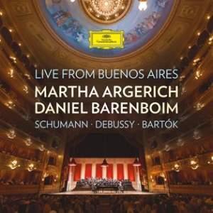 Martha Argerich & Daniel Barenboim: Live from Buenos Aires