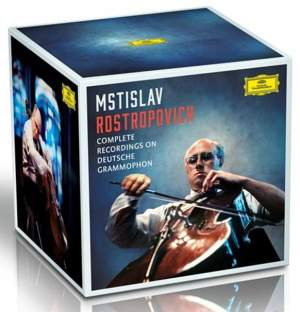 Mstislav Rostropovich: Complete Recordings on Deutsche Grammophon Product Image
