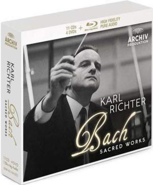 Karl Richter conducts Bach Sacred Works