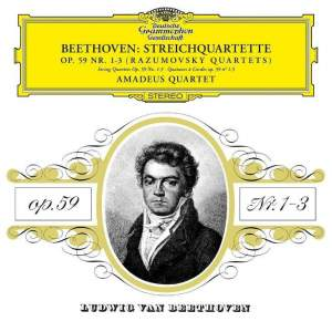 Beethoven: The Rasumovsky Quartets, Op. 59, Nos 1-3 - Vinyl Edition