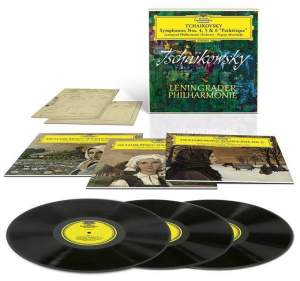 Tchaikovsky: Symphonies Nos. 4, 5 & 6 - Vinyl Edition Product Image