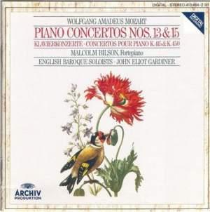 Mozart: Piano Concertos Nos. 13 & 15