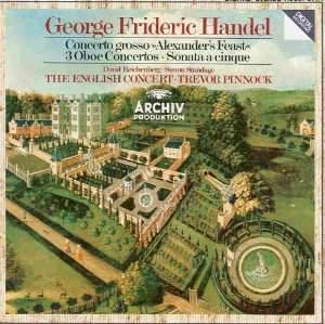 Handel: Concertos for Oboe