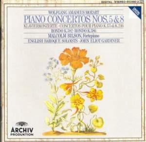 Mozart: Piano Concertos Nos. 5 & 8