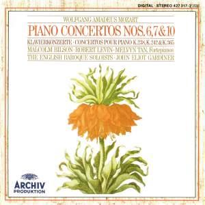 Mozart: Piano Concertos Nos. 6, 7 & 10