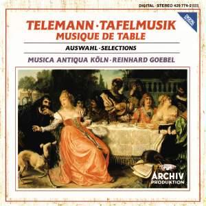 Telemann: Tafelmusik - selections