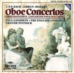 CPE Bach, Mozart & Lebrun: Oboe Concertos