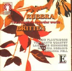 Britten & Rubbra: Complete Recorder Works