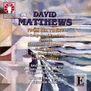 David Matthews - From Sea to Sky Product Image