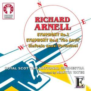 Arnell - Symphonies Nos. 1 & 6 Product Image