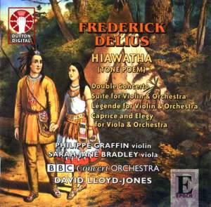 Delius - Hiawatha, Double Concerto & Légende