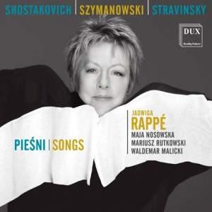 Stravinsky, Shostakovich & Szymanowski: Songs
