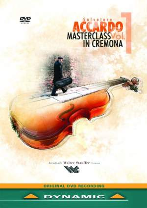 Salvatore Accardo Masterclass in Cremona Vol.1