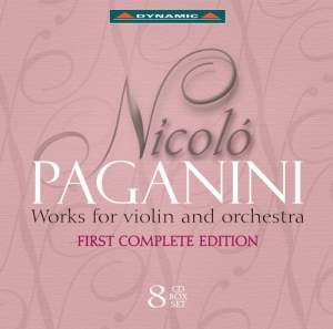 Paganini - Works for violin and orchestra
