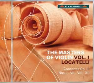 Locatelli: The Masters of Violin Vol. 1