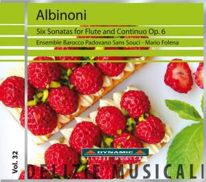 Albinoni: Six Sonatas for Flute and Continuo, Op. 6 Product Image