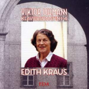 Viktor Ullmann: Piano Sonatas Nos. 1-4