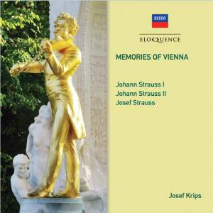 Memories Of Vienna - Johann Strauss I & II