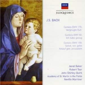 J. S. Bach - Cantatas Nos. 170, 82 & 159