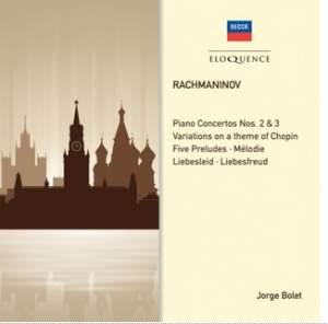 Rachmaninov: Piano Concertos 2 & 3 & Solo Piano Works