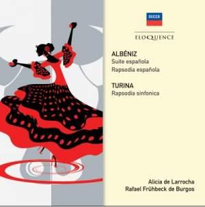 Albéniz & Turina: Rhapsodies