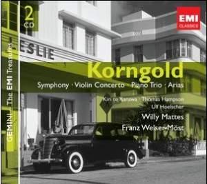 Korngold - Symphony, Violin Concerto, Piano Trio & Arias