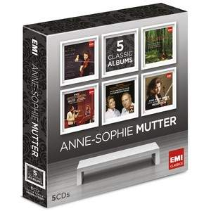 Anne-Sophie Mutter – 5 Classic Albums