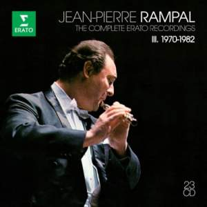 Jean-Pierre Rampal: The Complete Erato Recordings Vol. 3