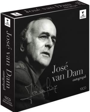 José van Dam: Autograph