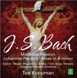 JS Bach: Matthäus-Passion, Johannes-Passion & Mass in B minor