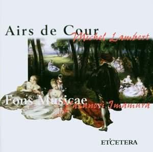 Michel Lambert: Airs de Cour
