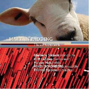 Martijn Padding: Three Concerti