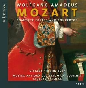 Mozart: Complete Fortepiano Concertos