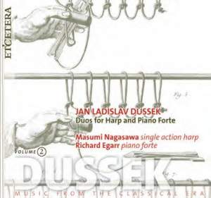 Dussek: Duos for Harp and Piano Forte