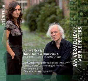 Schubert: Works for Piano Four Hands Vol.4 Product Image