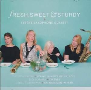 Fresh, Sweet & Sturdy - Syrène Saxophone Quartet