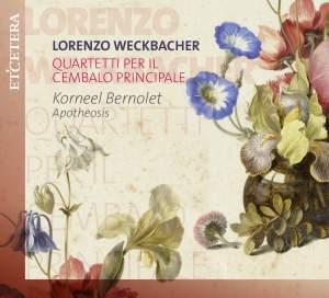 Weckbacher: Quartetti Per Il Cembalo Principale