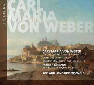 Weber: Works for Clarinet