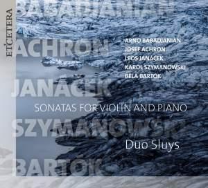 Babadzhanian, Janacek & Bartók: Works for Violin and Piano