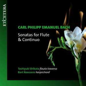 CPE Bach: Sonatas For Flute & Continuo Product Image
