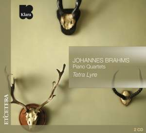 Brahms: Piano Quartets Product Image