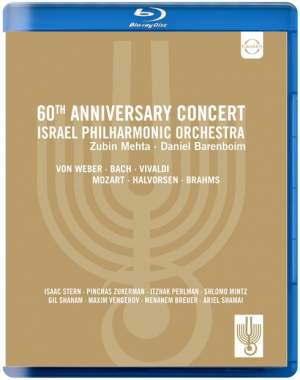 Israel Philharmonic Orchestra: 60th Anniversary Concert