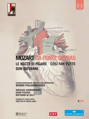 Mozart: Da Ponte Operas Product Image