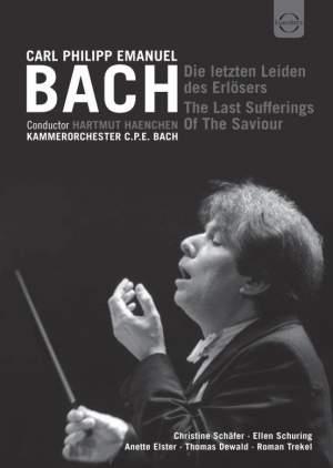 Bach, C P E: Die letzen Leiden des Erlösers, Wq. 233 (H776)