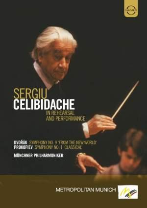 Celibidache conducts Prokofiev and Dvorak Product Image