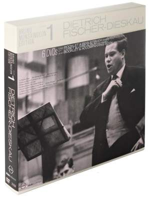 The Bruno Monsaingeon Edition Vol. 1: Dietrich Fischer-Dieskau